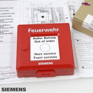 SIEMENS-V24217-B1304-C201-HFM-SIGMASYS-TYP-B-FEUERWEHR-FEUERSCHUTZABSCHLUSS