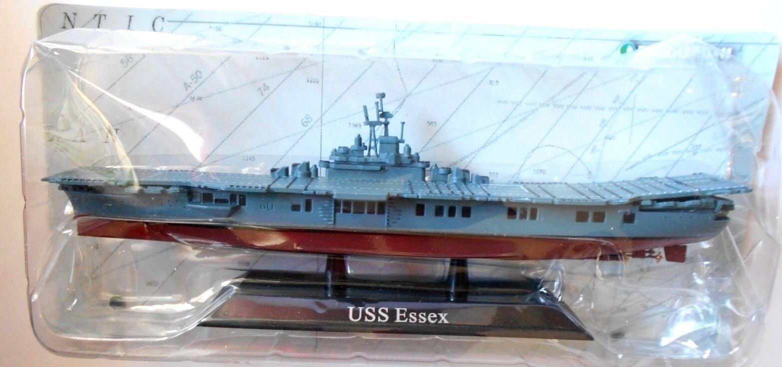 DIE ESSEX CAST NAVIRES DE GUERRE - USS ESSEX DIE - ÉCHELLE 1/1250 DEAGOSTINI [6] ceeaf7