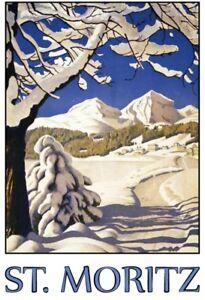 St-Moritz-invierno-paisaje-chapa-escudo-Escudo-jadeara-metal-Tin-sign-20-x-30-cm