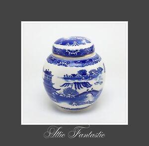 Blue White Porcelain Ginger Jar