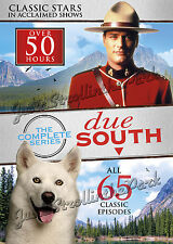 Due South: Complete Canadian TV Series Seasons 1 2 3 DVD Collectors Box Set NEW!