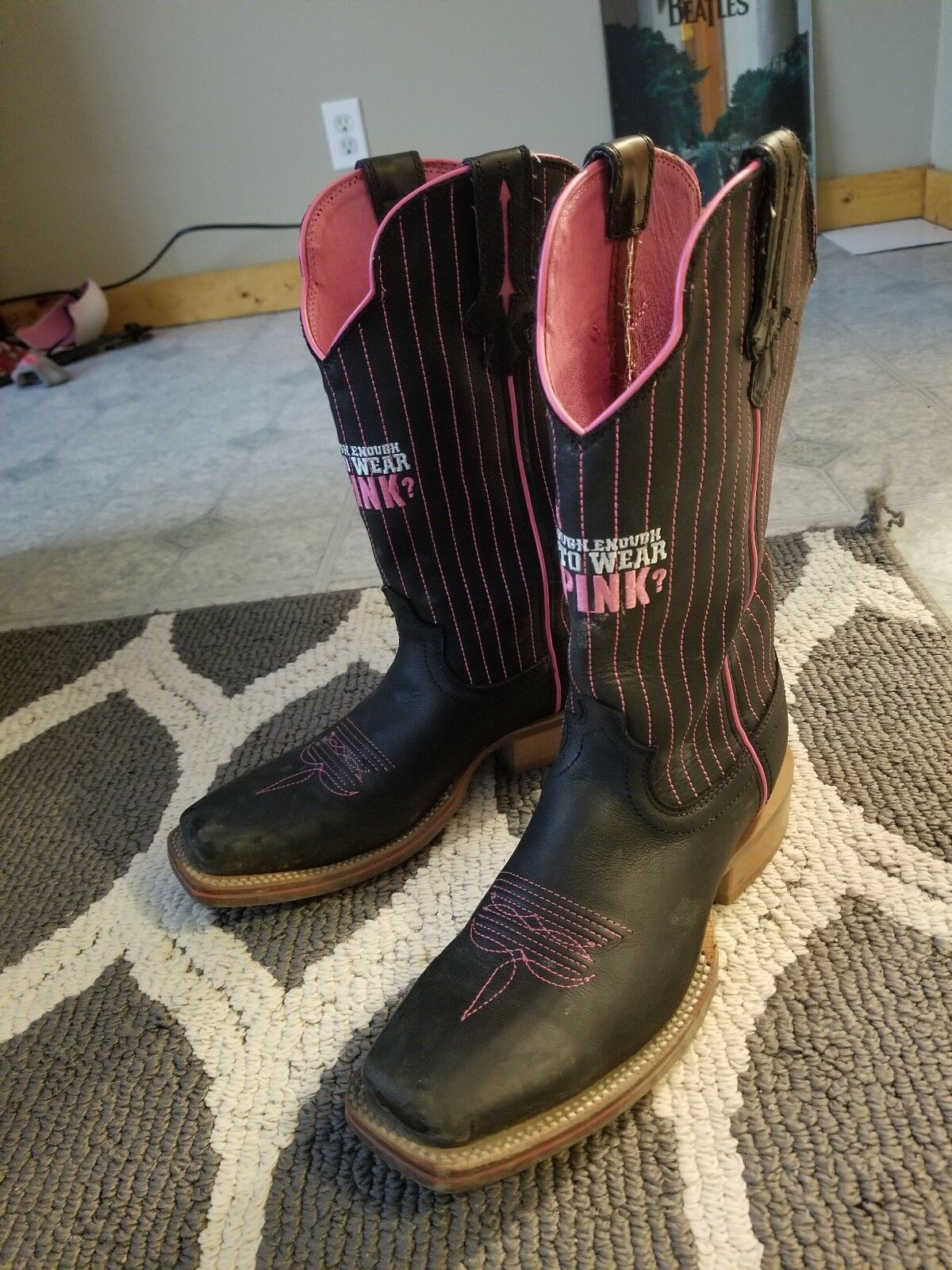 Size 7.5 Twisted X Limited Limited Limited Edition Breast Cancer Awareness Boots 23ca42