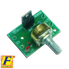 assembled Dimmer control light lamp bulb beam electronic circuit board project