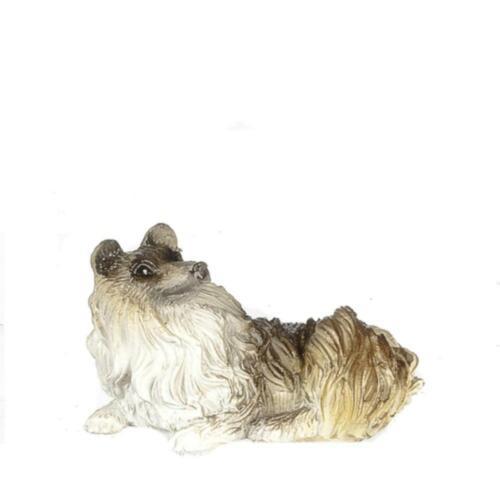 Melody Jane Puppenhaus Liegend Hund Miniatur Haustier 1:12 Maßstab