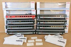Marklin-Marklin-4215-4216-4217-42163-Rateau-Of-8-SBB-Cff-Express-Wagon-Nq