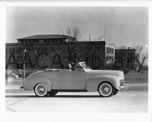 Factory Photo Picture 1940 Mercury Club Convertible Coupe Ref. #56526