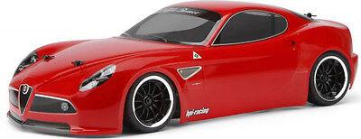 HPI Racing Alfa Romeo 8C Competizione Clear Body 200mm  HPI17544