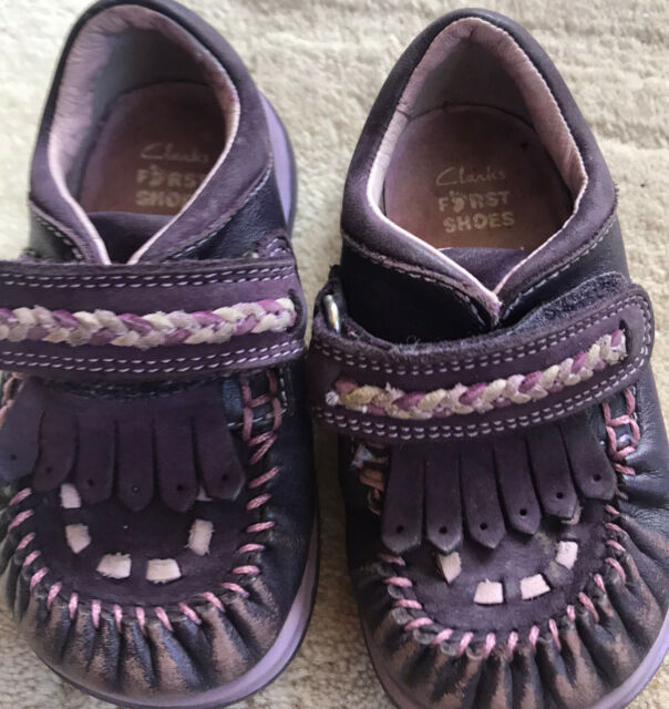 Clarks First Shoes Girls Size 4g for