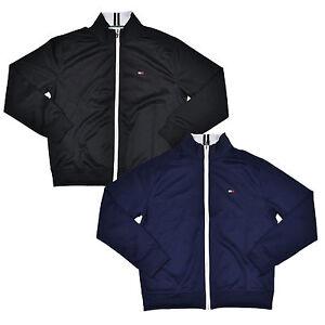 Tommy Hilfiger Jacket Mens Athletic Full Zip Long Sleeve
