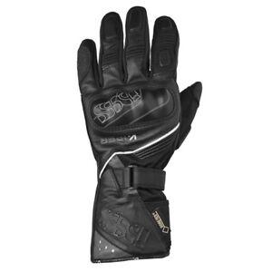 IXS-Viper-Gtx-Uomo-Moto-Guanti-nero-pelle-di-capra-e-tessuto-mix