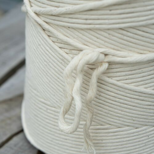 Macrame Rope Cord String 100/% Natural Cotton Single Strand Arts Crafts Jewelry