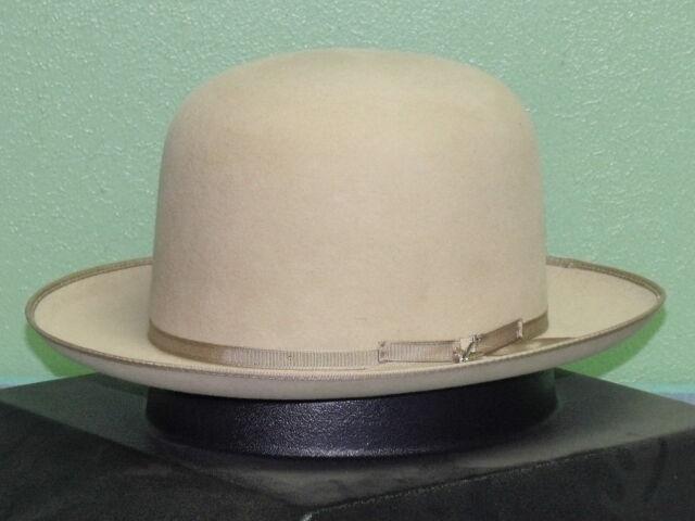 034078be Stetson Premier Stratoliner Open Crown Soft Fur Felt Fedora Hat Sage ...