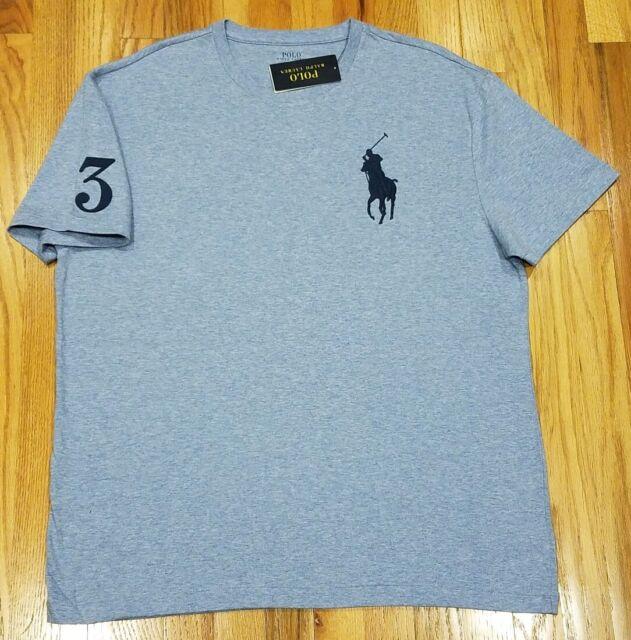 Ralph Lauren T-shirt Men/'s Short sleeve 100/% Cotton Nice Materal  Size Large