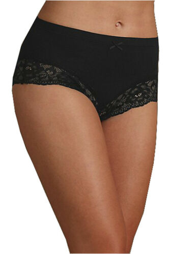 LADIES  EX FAMOUS STORES RICH HIGH WAISTED BRAZILIAN KNICKERS BRIEFS M/&5 M S
