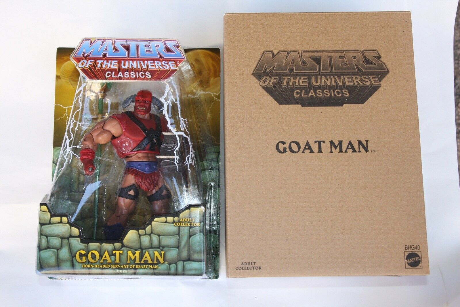 GOAT MAN Nuovo Sigillato MOC Mattel Masters of the Universe Classics MOTUC