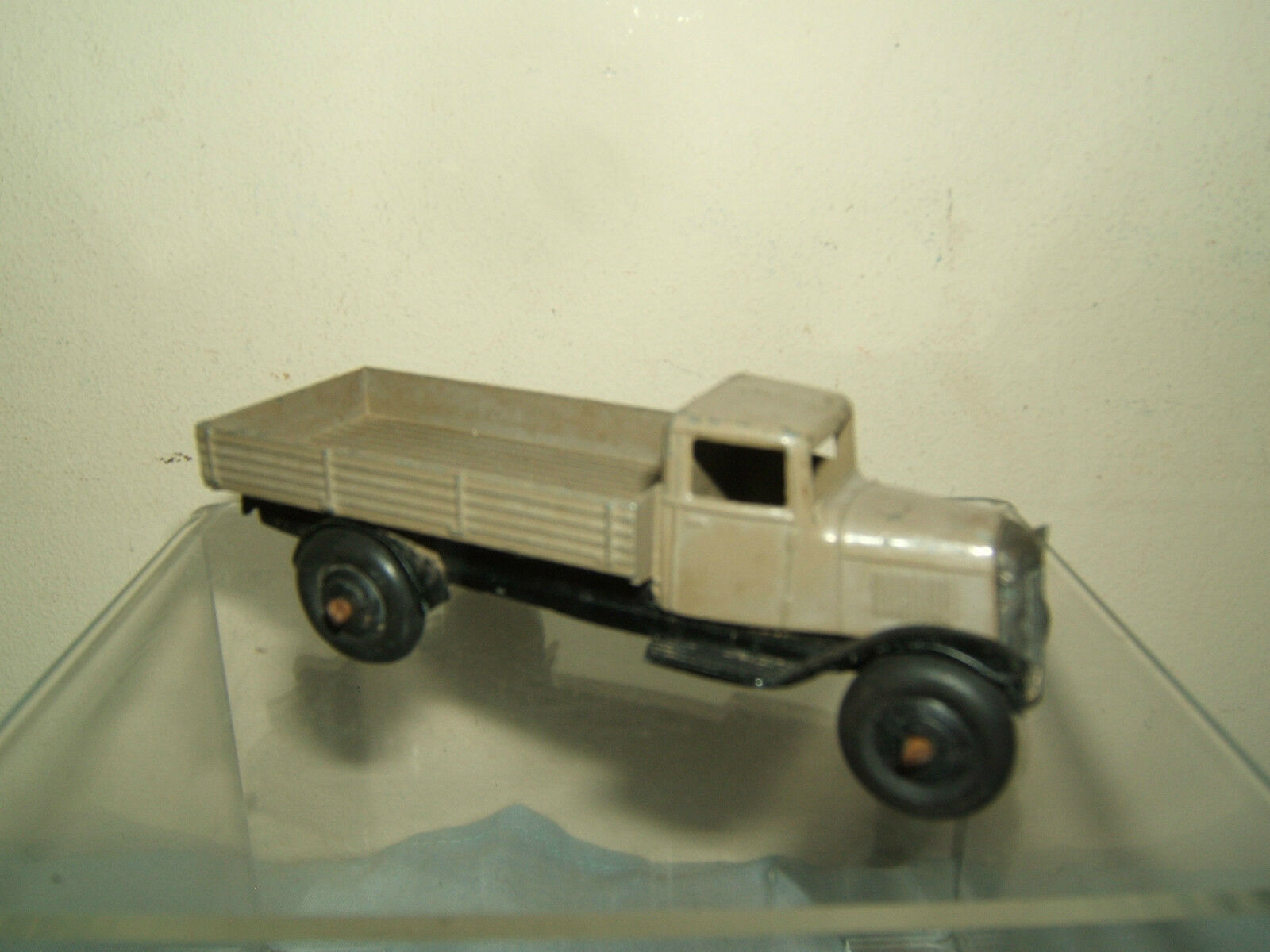 VINTAGE DINKY TOYS MODEL No.25a OPEN WAGON          grau VERSION