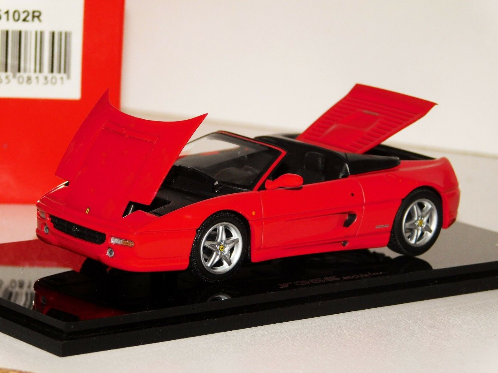 wholesape barato Ferrari F355 Spider Rojo apertura Kyosho 05102R 1 1 1 43  moda