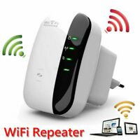 300Mbps Wireless N 802.11 AP Wifi Range Extender Router Repeater Booster UK Plug