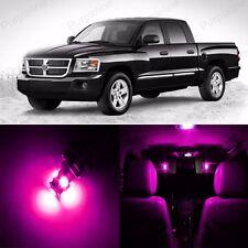 14 x Ultra Pink LED Interior Light Package Kit For Dodge Dakota 1997 - 2013
