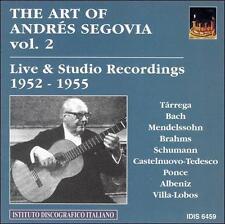 Albeniz / Bach - Art Of Segovia 2 [CD New]