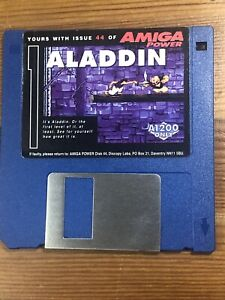 Amiga-Power-Magazine-cover-disk-44-Aladdin-TESTED-WORKING