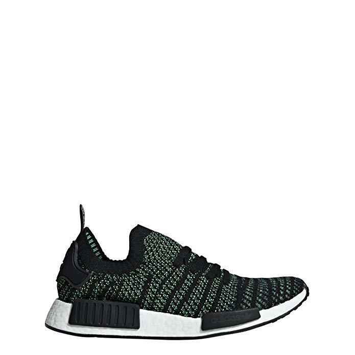 Adidas Men's Originals NMD_R1 STLT Primeknit AQ0936 Green Running shoes