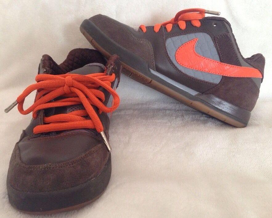 Nike e 8,5 paul rodriguez - ii zoom air sb - rodriguez marrone arancione 315459-281 = 833dbd