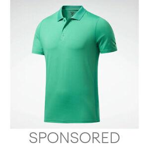 Reebok Men's Workout Ready Polo Shirt