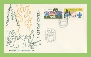 Norway-1975-Nordjamb-75-039-Scouts-First-Day-Cover-unaddressed
