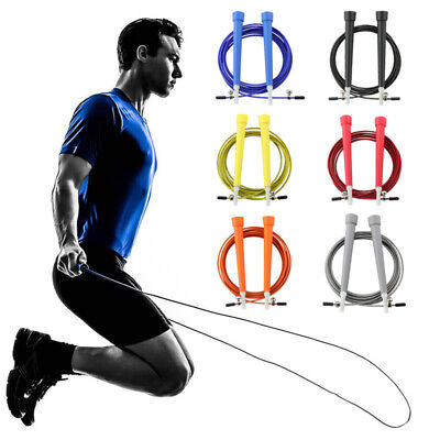 1PC Adjustable Skipping Rope Speed Jump Aerobic Fitness Exercise Training 3M