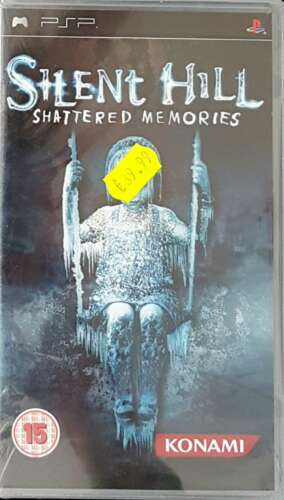 1 of 1 - SILENT HILL: SHATTERED MEMORIES -2010- Sony PSP Game -PAL-