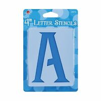 Plaid Letter Stencil Value Pack (4-inch) 28874 Genie 4 Inch Free Shipping