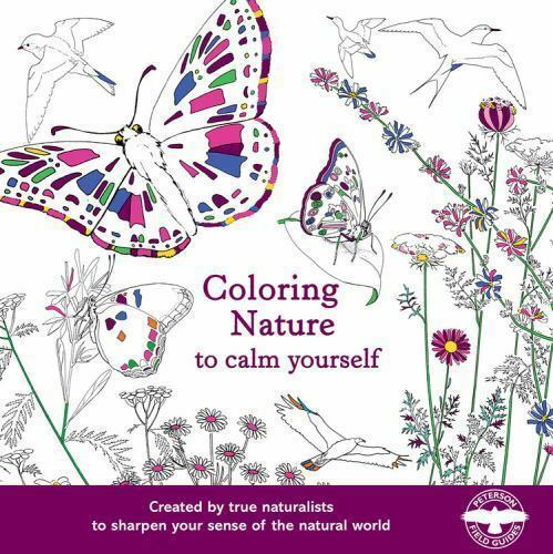 Coloring Nature To Calm Yourself By Houghton Mifflin