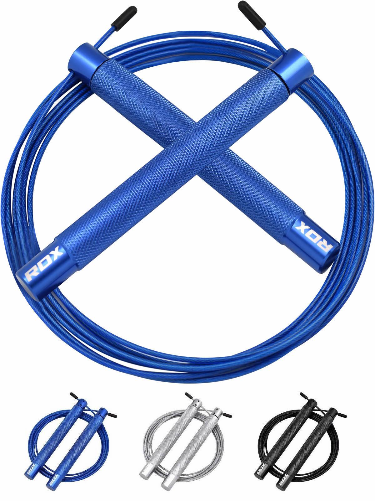 RDX Springseil Übung Geschwindigkeit Sprung Seil Gym Fitness Skipping Rope C4 AT