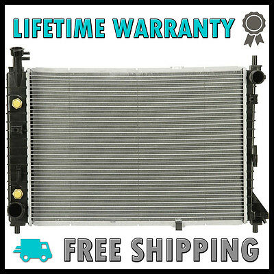 Radiator Replacement For 97-04 Ford Mustang V6 3.8L FO3010115 Aluminum Core New