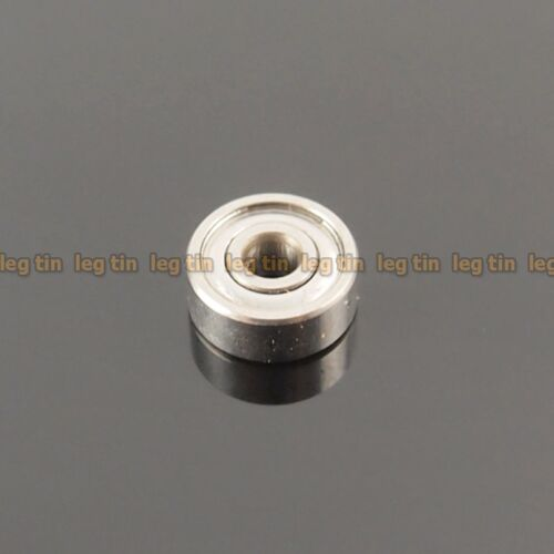 1pc S623zz S623 3x10x4 mm Stainless Steel 440c Ball Bearing Bearings