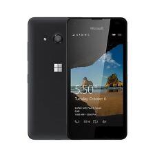 MICROSOFT NOKIA LUMIA 550 Negro (Desbloqueado) Teléfono Inteligente-Grado B