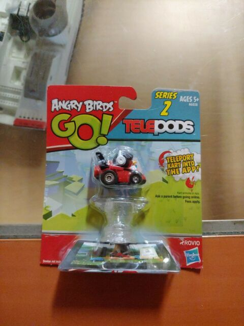 NIP Angry Birds Go Telepods Kart Series 2 BLACK BIRD Rovio Hasbro
