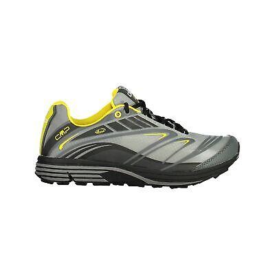 Cmp Scarpe Da Corsa Scarpe Sportive Maia Trail Shoes Grigio Leggermente Tinta In Nylon Mesh-mostra Il Titolo Originale