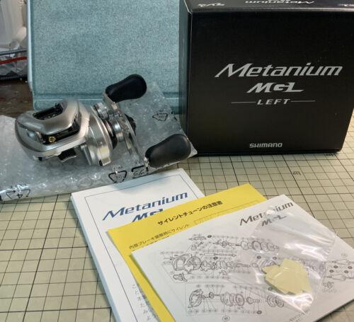 Shimano 15 metanium Mgl 6.2 gauche appâtage casting reel (YZ Craft Hyper Pédalier custom)