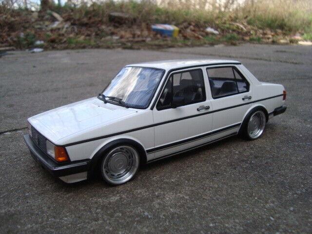 1 18 VW Jetta 1 Tiefer Tuning mit 15 Zoll Mercedes Old School Echt Alu Felgen