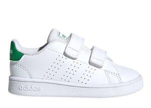 Adidas-Scarpe-da-Ginnastica-Bambino-ADVANTAGE-I-EF0301-Bianco