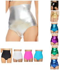 S - 3XL SAME DAY SHIPPING MADE IN USA RAVE WEAR LYCRA SOLID BOYSHORT