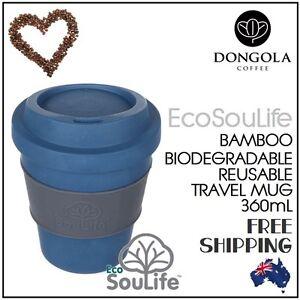 355mL-Bio-Sip-Coffee-Tea-Travel-Cup-Mug-Biodegradable-Reusable-Eco-Friendly-Navy