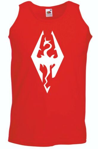 Skyrim T-Shirt or Vest Switch Master Race NX Tee FREE Switch Bag
