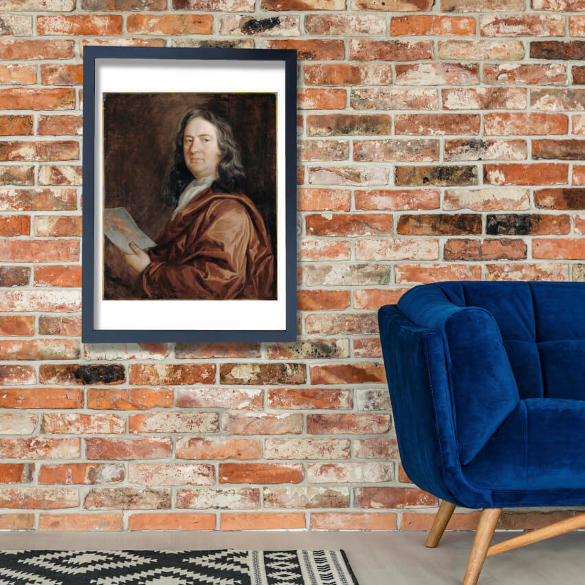 Beale Mary - Portrait Of A Physician Wall Art Poster Print