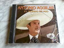 Antonio Aguilar El Mundo Es Mio CD SEALED! Import ECHO EN MEXICO Nuevo MusArt