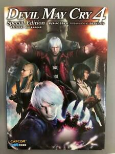 Devil-May-Cry-4-Special-Edition-Official-Guidebook-Game-Art-Guide-Book