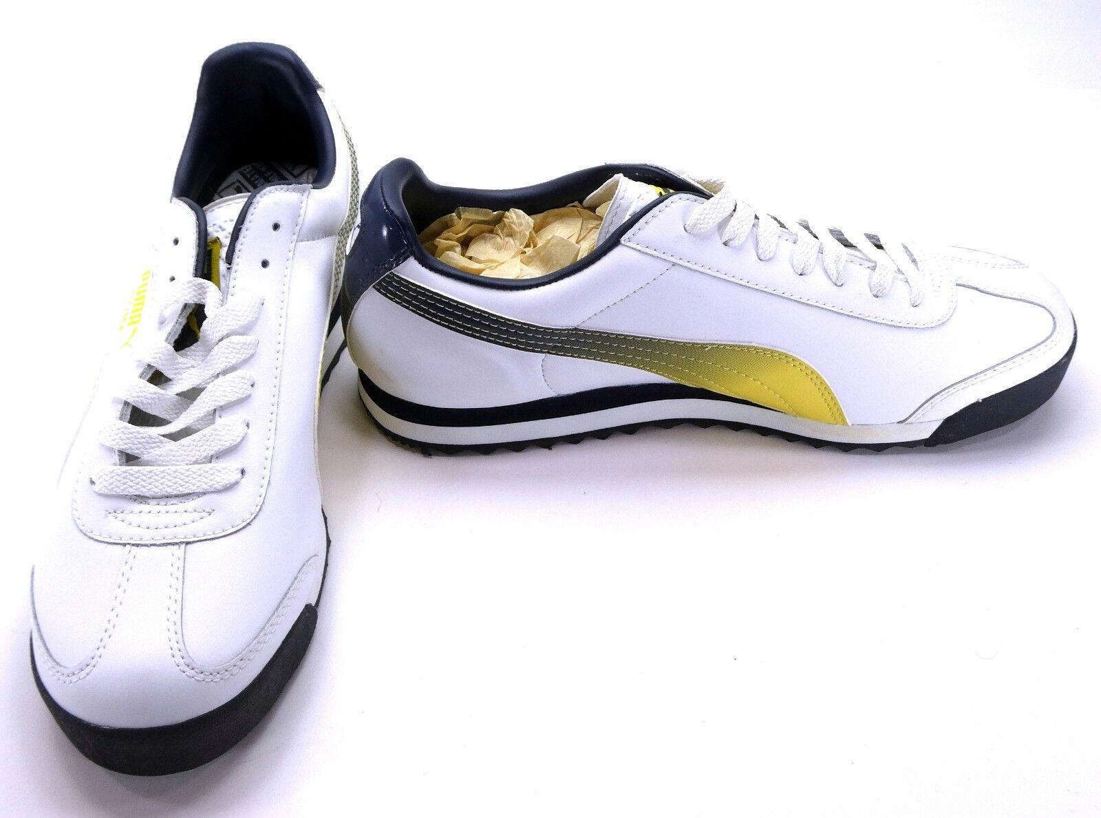 Puma Zapatos Zapatillas Gradient/Negro Roma Atlético Blanco/Amarillo Gradient/Negro Zapatillas 5c726a