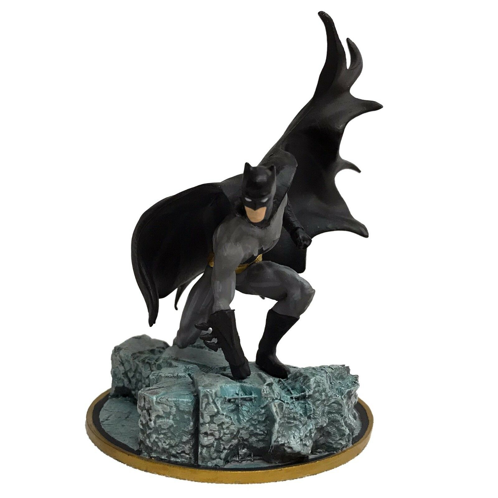 Batman schwermetalle 2018 comic - con sdcc exklusiven mini - statue in dc neue